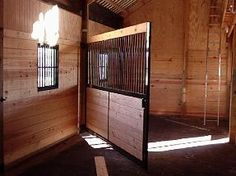 Swing Away Partitions -good for broodmare stalls -brilliant!