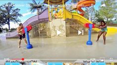 @wetnwildtoronto has huge water slides and they have a kids play area too!  Sorry kids we were hogging the water guns  See the full VIDEO on our YouTube channel (link in bio)