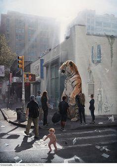 """Outsider""   Joel Rea  Exhibitionist Date: 27th September - 21st October 2017, Mitchell Fine Art, Australia"