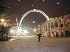 Verona Italy at Christmas