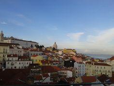 Vistas desde Alfama #Lisboa #Portugal