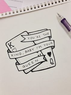 Cute Drawings For Him : drawings, Drawings, Ideas, Drawings,, Drawing, Quotes,