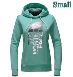 ✨NWT✨The North Face Women's Pullover Hoodie In Agate Green & Silver, Size: Small  | eBay