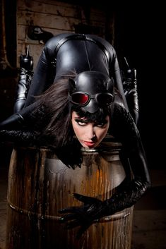 #Catwoman #cosplay by Aiden Ashley.