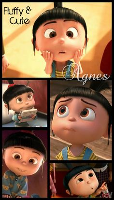 Despicable Me-Agnes-Reminds me of my niece