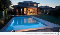 15 Transparent Glass Swimming Pool Safety Fences | Home Design Lover
