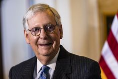 McConnell opposes $1,400 stimulus checks because he thinks people could stop working Republican Leaders, Republican Senators, Republican Party, Economic Research, Mitch Mcconnell, Former President, Corona