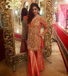 The Pakistani Bride ( Pakistani Party Wear, Pakistani Wedding Outfits, Pakistani Couture, Pakistani Dresses, Wedding Hijab, Desi Wedding Dresses, Bridal Dresses, Sun Dresses, New Fashion Saree