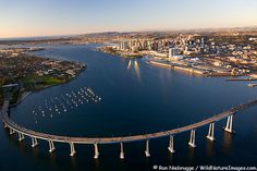 Bridge to Coronado, San Diego, CA! HOOYAH They are going to rename it to the Ronald Wilson Reagan Bridge . Love San Diego most of all ! Places To Travel, Places To See, Coronado Bridge, Coronado Island, San Diego Travel, California Dreamin', Travel Usa, Beautiful Places, Scenery