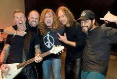 With Dave mustaine