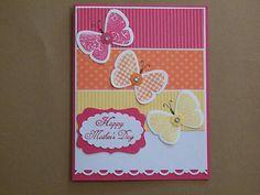Mother's Day Card Butterflies