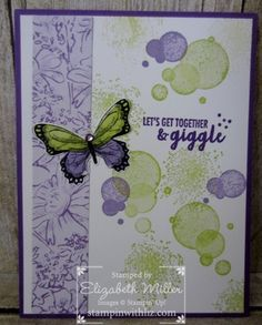 Part of My Story – Stampin With Liz - Beauty Abounds - Stampin Up Butterfly Birthday Cards, Butterfly Cards, Flower Cards, Butterfly Dragon, Monarch Butterfly, 123 Cards, Butterfly Template, Fancy Fold Cards, Stamping Up Cards