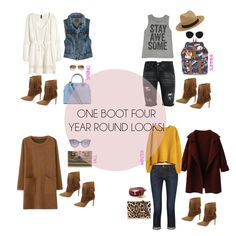 One Boot Four Year Round Looks
