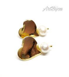 274e99e7506f Las 28 mejores imágenes de pendientes perlas