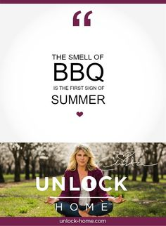 Happy BBQ! Weekly Happy Home Thought. http://www.unlock-home.com