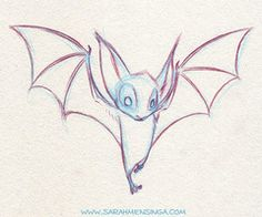 bat drawing - Google Search