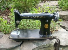 SINGER 101 SEWING MACHINE with manual by papasworkshopct on Etsy, $200.00