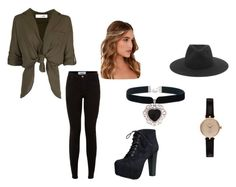 """""""Untitled #151"""" by weirdobutfun on Polyvore featuring Speed Limit 98, Lulu*s, rag & bone, Rock 'N Rose and Barbour"""