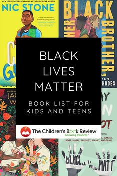 Black Lives Matter Book List for Kids and Teens : The Childrens Book Review Best Books For Teens, Good Books, Matter For Kids, Get Shot, Early Literacy, School S, Stories For Kids, Book Recommendations, Book Lists
