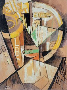 Albert Gleizes, 1915, Broadway, oil on board, 98.5 x 76 cm, private collection…