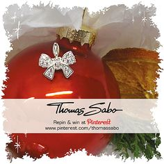 One lucky winner will be drawn on December 11th, 2012! Important: Your facebook or twitter account must be linked to your Pinterest profile! Terms and conditions: http://images.thomassabo.com/www/2/2012/11/TC-Pinterest-Xmas-Sweepstake.pdf