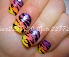 tiger nails for costume