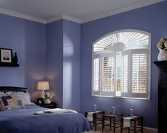 Periwinkle and white. I love the color combo! Wonder if I can convince Will to paint the laundry room this color!