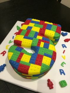 Lego Cake by Victoria Defty Couture Cakes! Couture Cakes, Lego Cake, Cube, Victoria, Toys, Games, Toy, Beanie Boos, Victoria Plum