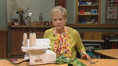 Watch now: Sewing with Nancy | Sew Amazing Scarves, Part 1 | WPT Video