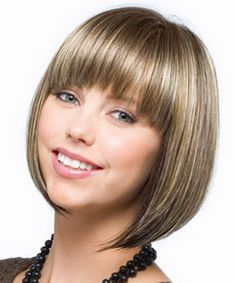 Tori by Rene of Paris - our top selling ready to wear bob style wig.  This angled bob comes with blunt salon styled bangs and a beautiful array of colors.