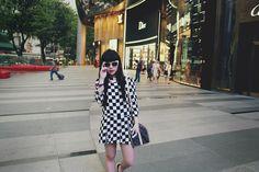 Pale Division, Designer Fashion Oversize Cat Eye Sunglasses 8300