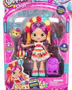 Awesome collection of Shopkins Toys in UK. Shop now for Shopkins season 5 and other series. Pre-order, buy online or collect in your local Smyths Toys Superstore. Shoppies Dolls, Shopkins And Shoppies, Shopkins Season 8, Shopkins Guide, Shopkins Gifts, Shopkins World Vacation, Visit Mexico, Doll Stands, Ideas