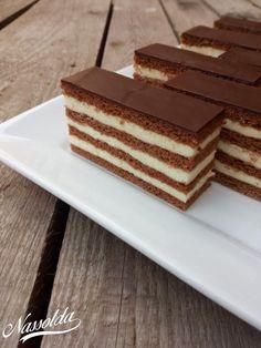 Angelika álma - Nassolda Hungarian Cake, Vanilla Cake, Tiramisu, Food And Drink, Homemade, Snacks, Cookies, Ethnic Recipes, Sweet