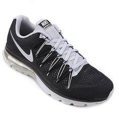 Tênis Nike Air Max Excellerate 5 - Preto+Prata ddf1b72562906
