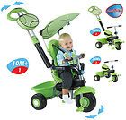 Smart Trike DX 3 in 1 Multi-Featured Babies Tricycle Green