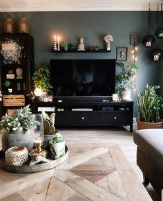 Black Bedroom Design, Home Room Design, Living Room Designs, House Design, Apartment Color Schemes, Living Room Color Schemes, Home Living Room, Apartment Living, Living Room Decor