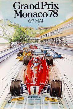 1978 GP F1 Monaco 7 May 1978 - Winner Patrick Depailler #Tyrrell-Ford Cosworth -La gara è stata vinta dal francese Patrick Depailler su Tyrrell-Ford Cosworth; per il vincitore si trattò del primo successo nel mondiale. Ha preceduto sul traguardo l'austriaco Niki Lauda su Brabham-Alfa Romeo e il sudafricano Jody Scheckter su Wolf-Ford Cosworth.