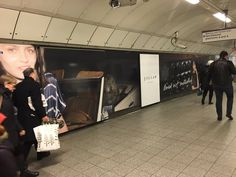 Love the #OOH #StationDomination for @InsideJigsaw at #OxfordCircus #LU #LDN from @ExterionMediaUK #OOHimpact