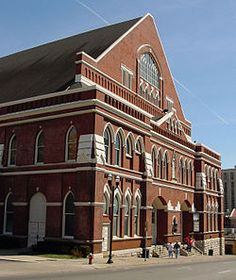 The Ryman Auditorium is a Nashville landmark and a great place to see concerts