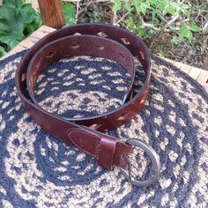 Dockers leather belt Slightly distressed very nice leather belt. Love the diamond shaped pattern! Dockers Accessories Belts