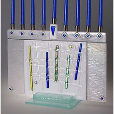 11 Menorah Ideas Menorah Glass Hanukkah Menorah