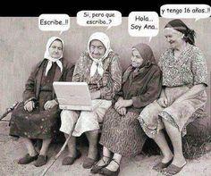 Chicas en el Chat http://www.grafichistes.com/graficos/chicas-en-el-chat/ - #Chistes #Humor http://www.grafichistes.com
