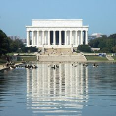 Lincoln Memorial Reflecting Pool, when we were here in 2011 the pool was under construction.