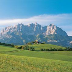 Der Wilde Kaiser in Tirol...