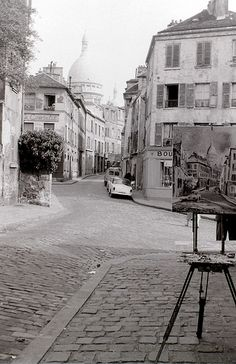 ~Montmartre, Paris, c.16 September 1959 ~*