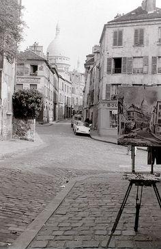 Montmartre, Paris, c.16 September 1959.
