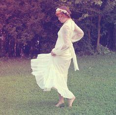 Gunne Sax wedding dress Boho wedding gown vintage by whichgoose, $200.00