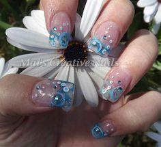 Bubbles by bearymal - Nail Art Gallery nailartgallery.nailsmag.com by Nails Magazine www.nailsmag.com #nailart