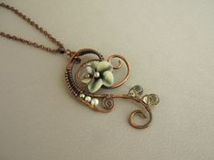 pictures of handmade wirework jewellery - Google Search