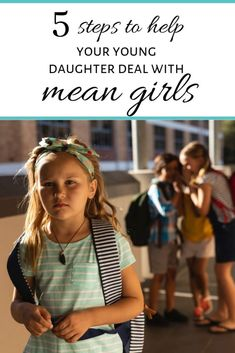 The mean girls start young. Teach your daughter how to deal with mean girls when bullying begins. It's happening earlier parents need to have a plan. Raising Daughters, Raising Girls, Parenting Teens, Parenting Advice, Girl Drama, Mom Advice, Mean Girls, New Parents, Happy Kids